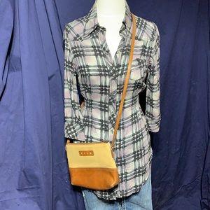 Guess tailored waist-in, long shirt or minidress